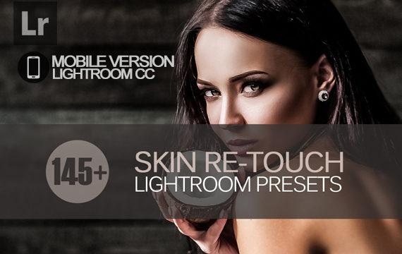 145+ Skin ReTouch Lightroom Mobile bundle