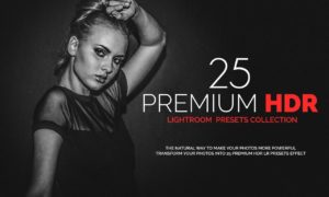 25 Premium HDR Lightroom Presets