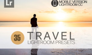 35 Travel Lightroom Mobile bundle