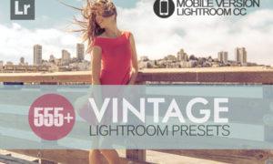 555+ Vintage Lightroom Mobile bundle