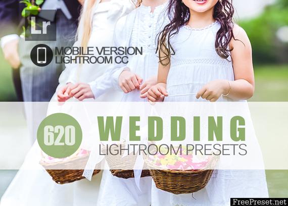 620+ Wedding Lightroom Mobile bundle
