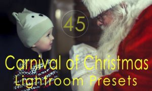 Carnival of Christmas Lightroom Presets