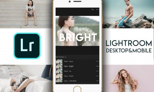 Lightroom+Mobile – Clean & Bright