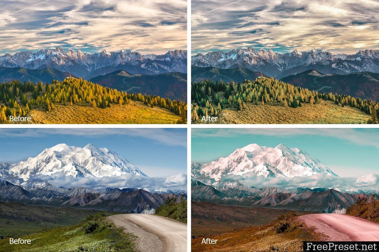Mountain Lr Presets