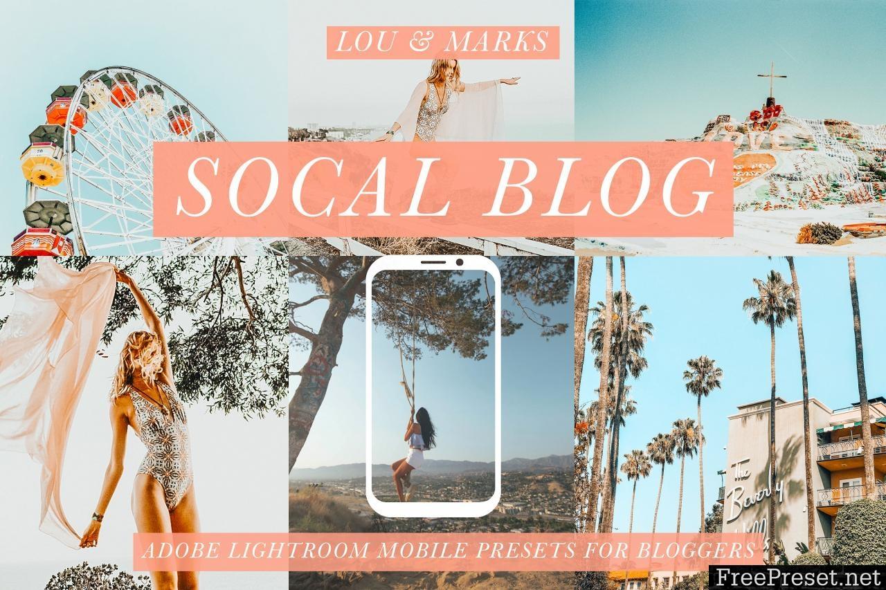 SoCal Mobile Blogger Presets