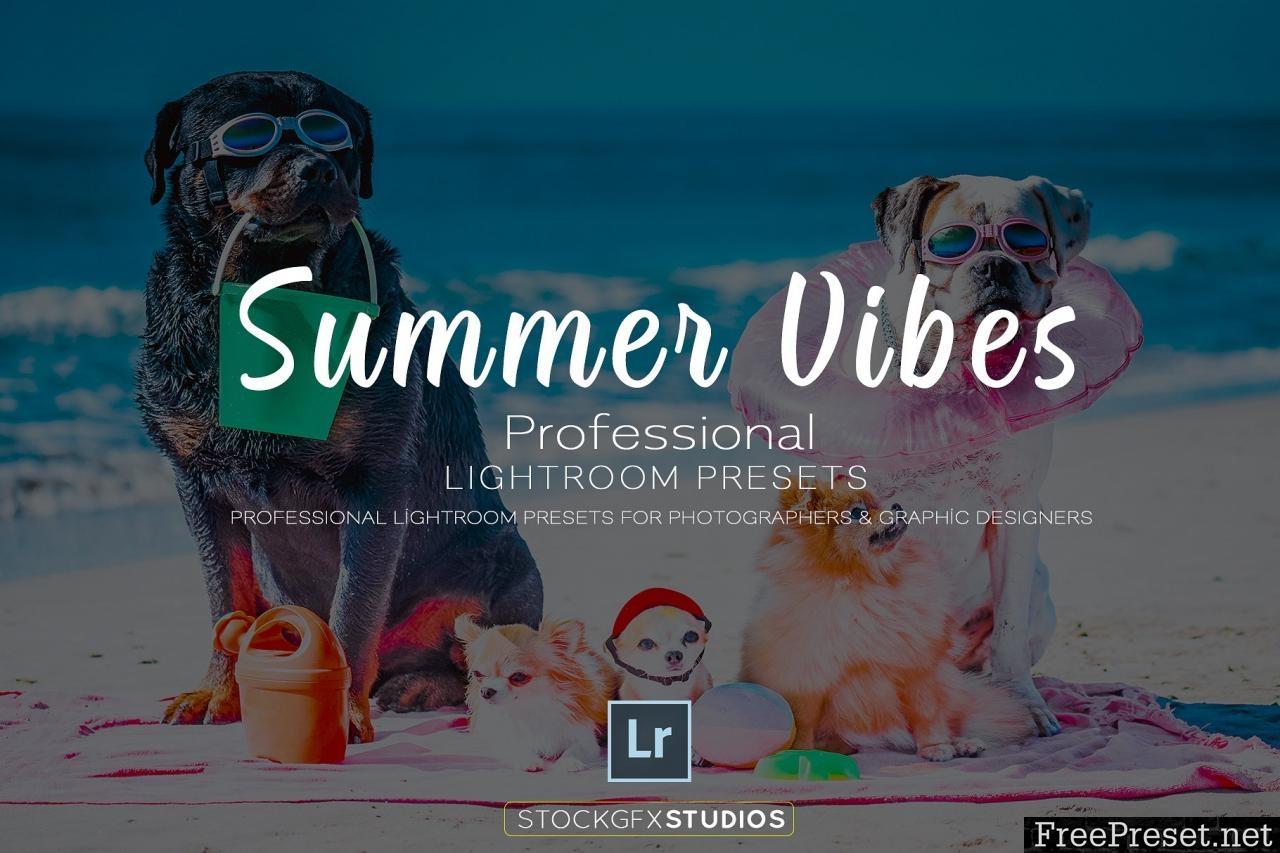 Summer Vibes Pro Lightroom Template