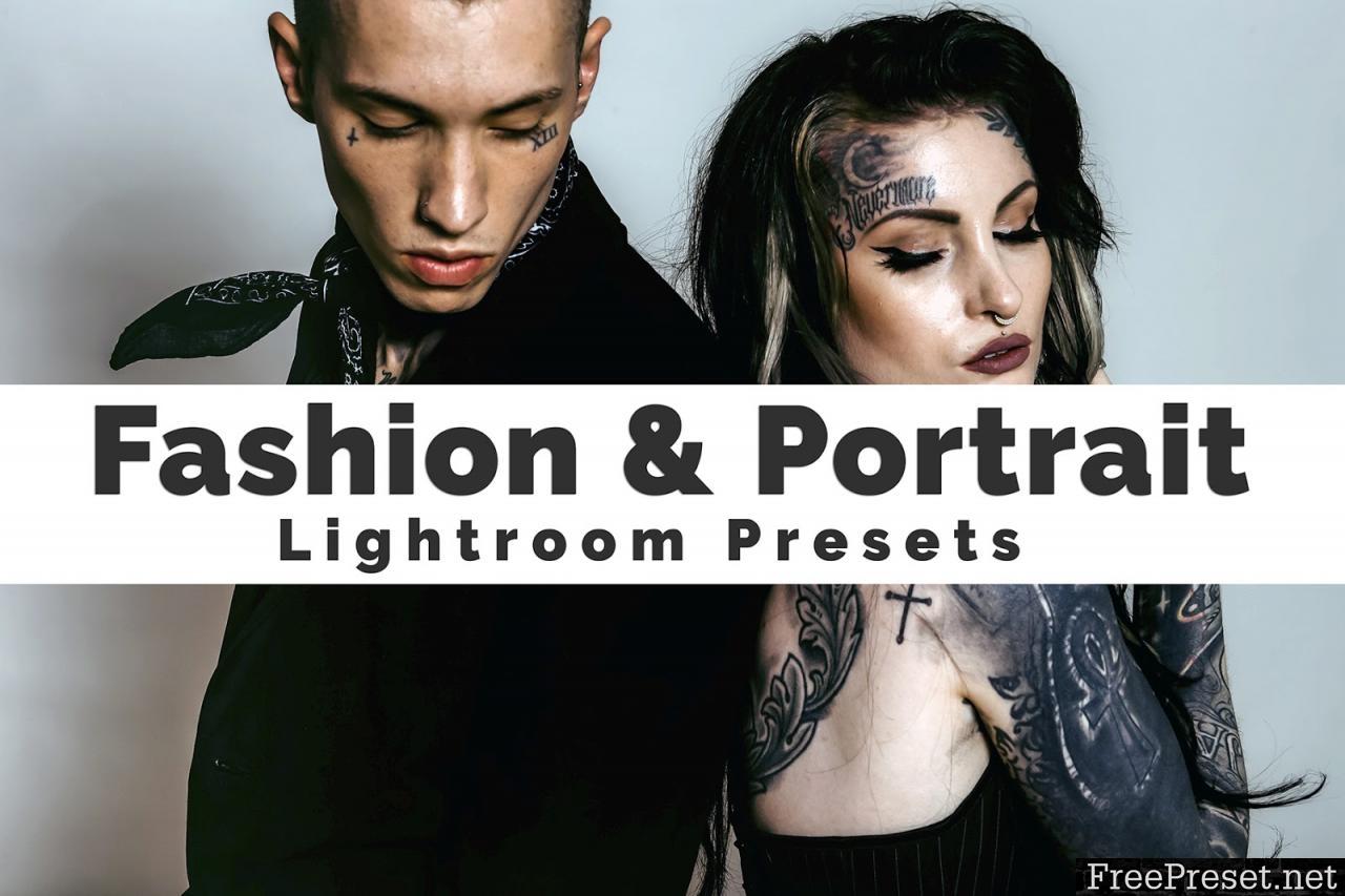 Fashion and Portrait Lightroom Presets