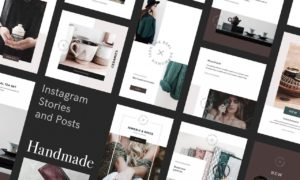 Handmade Instagram Stories and Posts