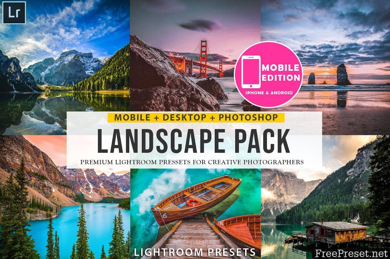 Landscape Lightroom presets 3304265