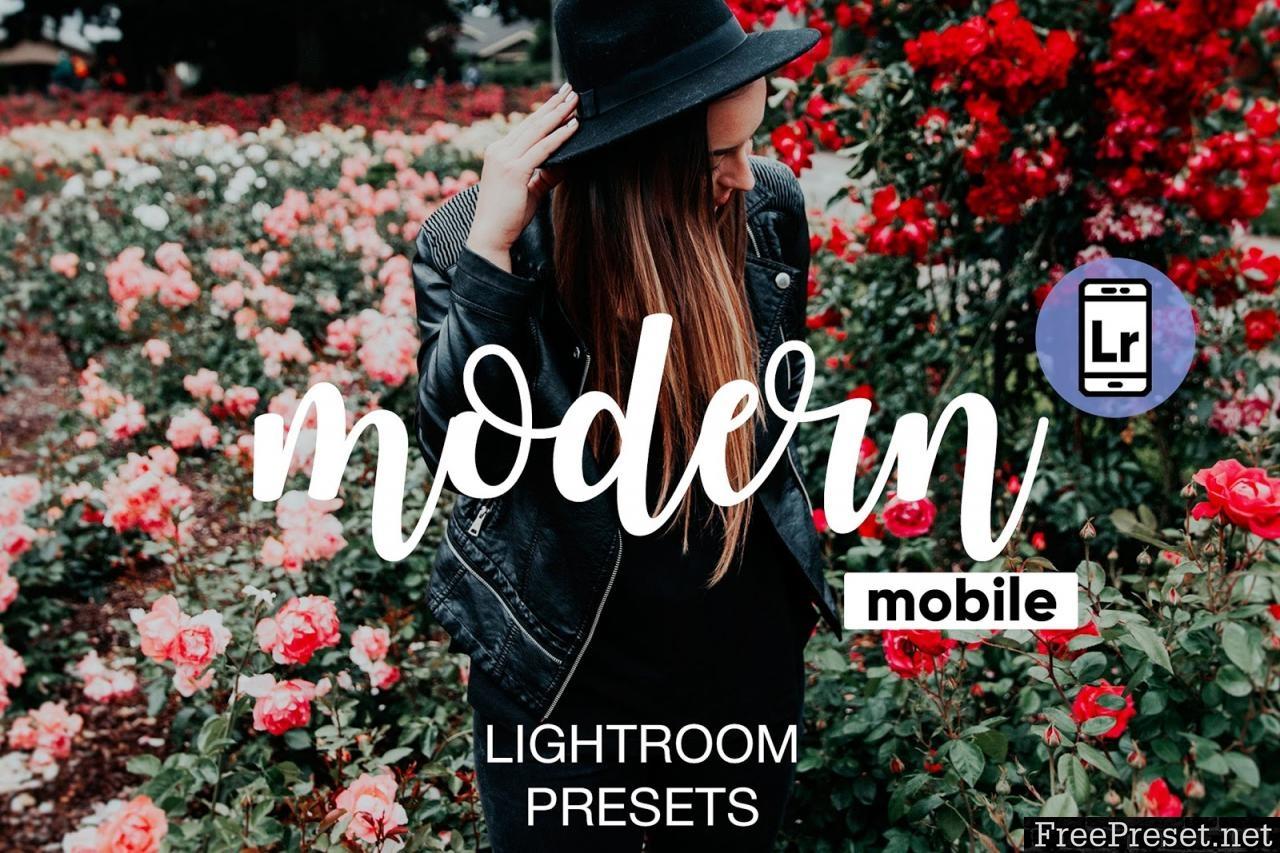 Modern Lightroom CC Mobile Presets 2870884