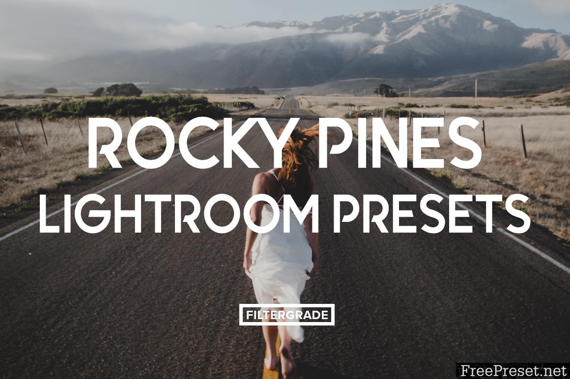 Rocky Pines lightroom Presets