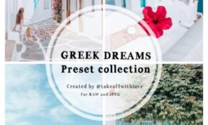 Takeoff With Love - Greek Dreams Preset Collection