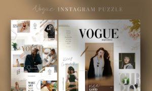 Vogue - Instagram Puzzle