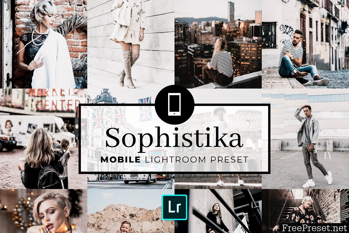 Mobile Lightroom Preset Sophistika 3320016