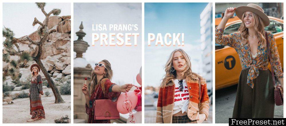 Lisa Prang Lightroom Presets Pack