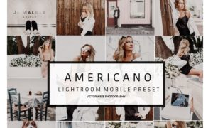 Mobile Lightroom Preset AMERICANO 2642217