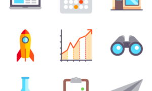Icon Pack - Color Startups and New Business
