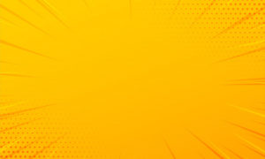 Yellow comic zoom lines background 2930929