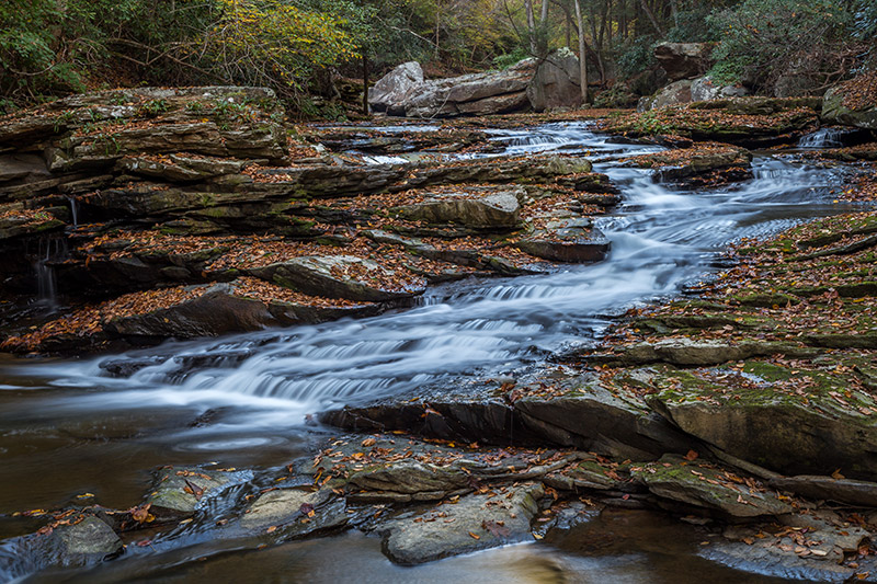 Photographing Mill Creek Falls (West Virginia)