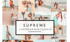 5 Mobile Lightroom presets SUPREME 3527264