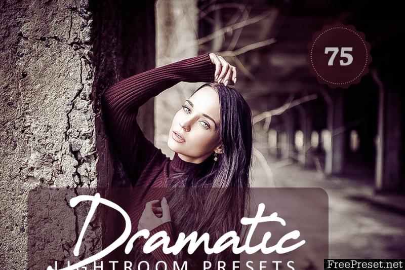 75 Dramatic Lightroom Presets