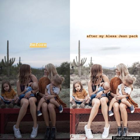 Alexa Jean Photo Desktop & Mobile Presets