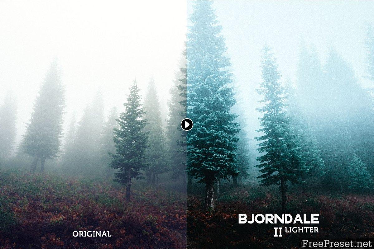 Bjorndale Lightroom Preset Pack 463587