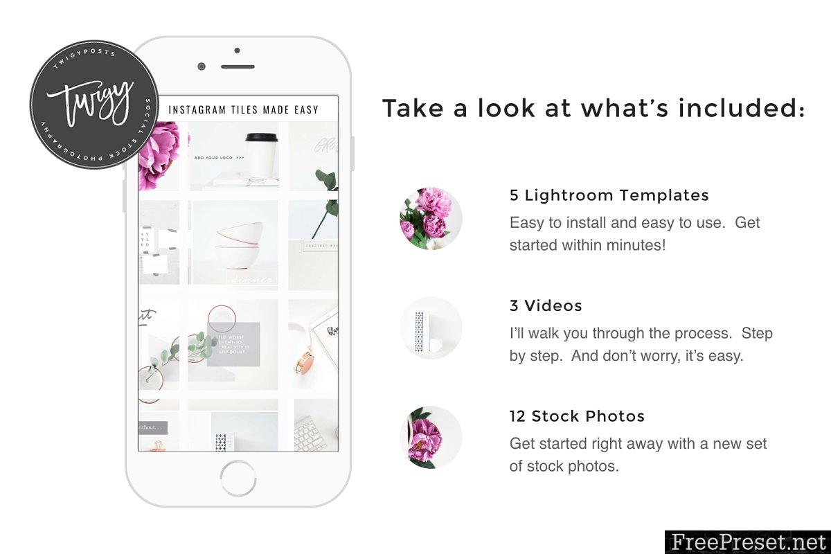 Create Instagram Tiles 828017