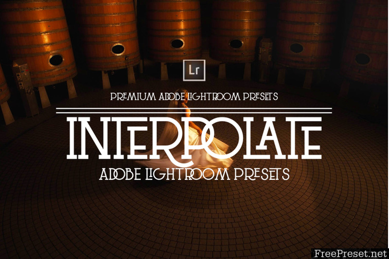 Interpolate Lightroom Presets