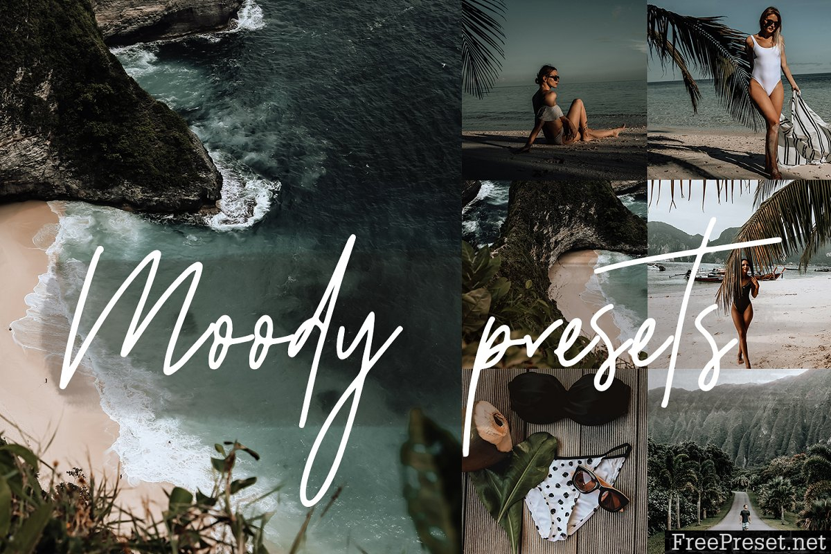 MOODY BLOGGER LIGHTROOM PRESETS 3563880