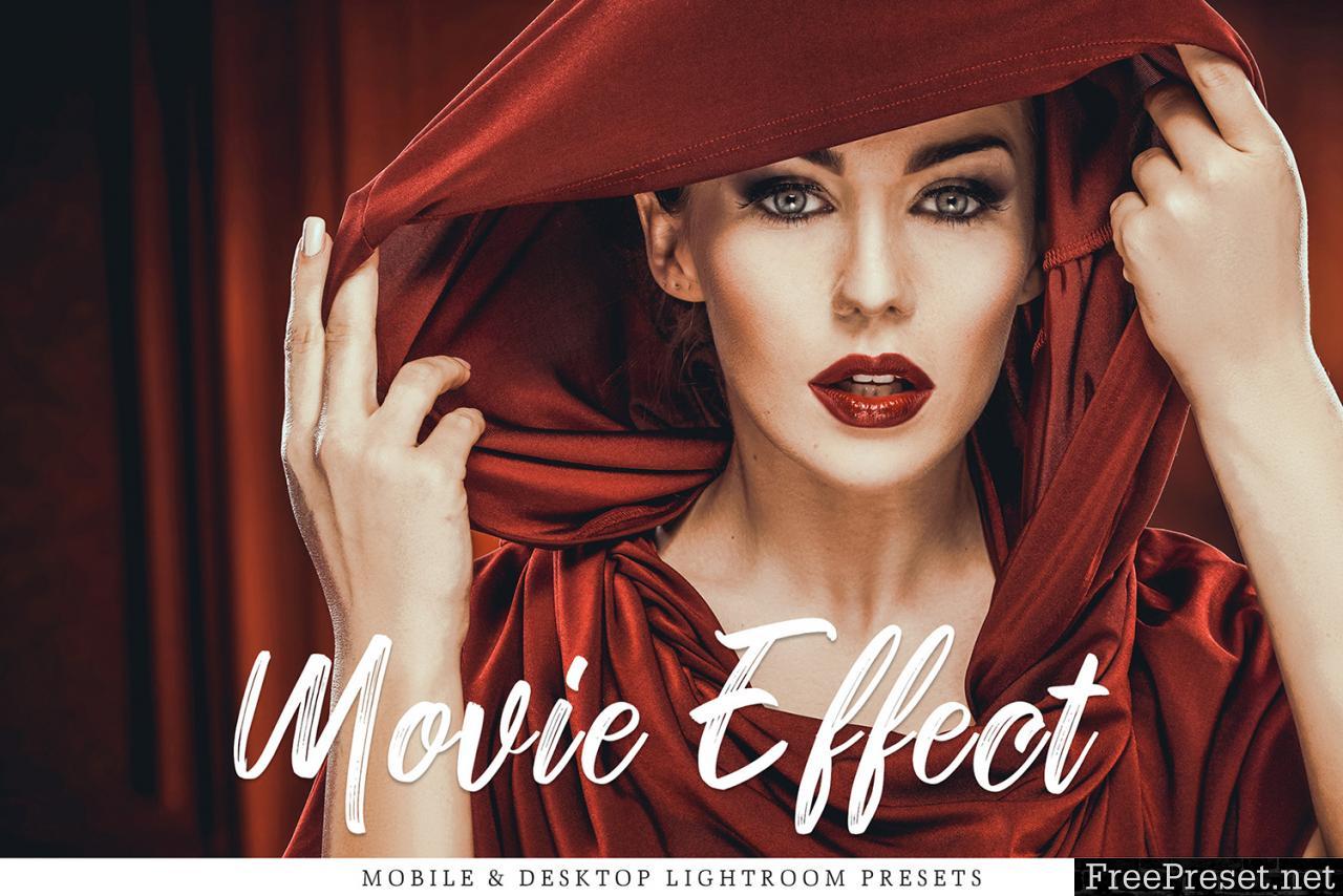 Movie Effect Mobile & Desktop Lightroom Presets Collection 228463