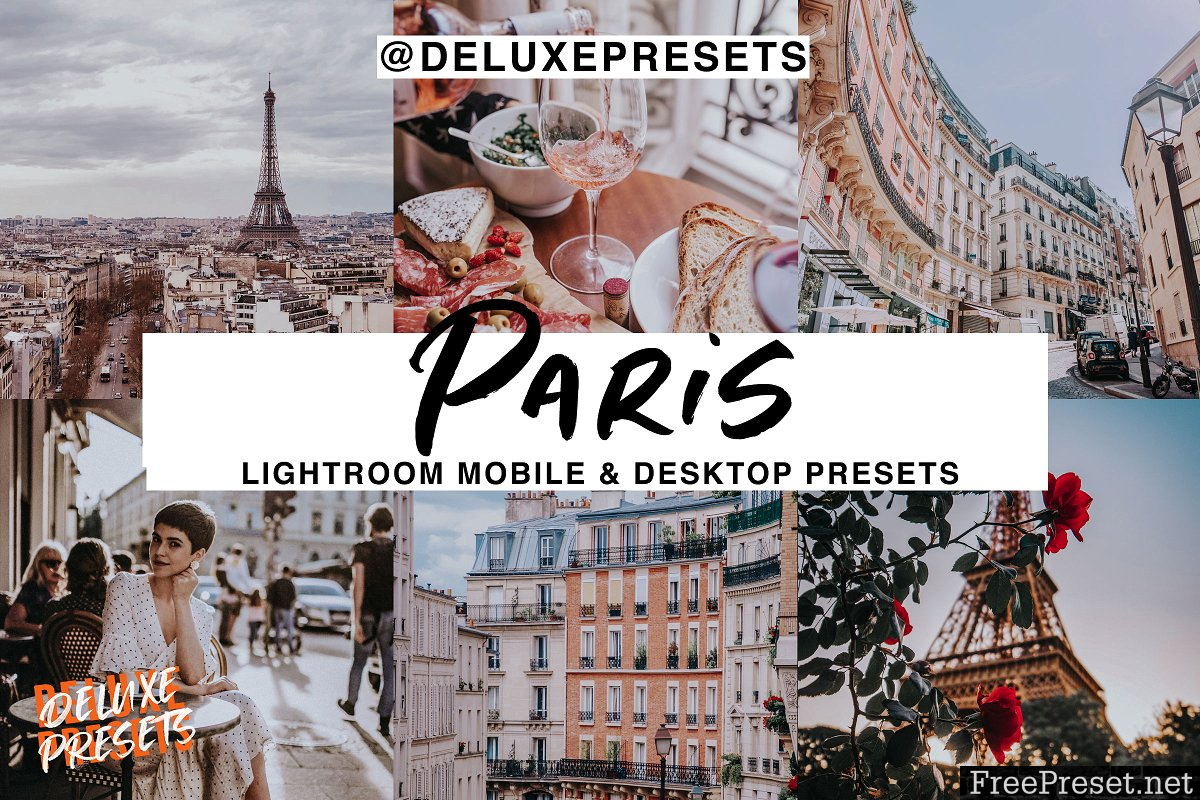 Paris Lightroom Preset 2968648