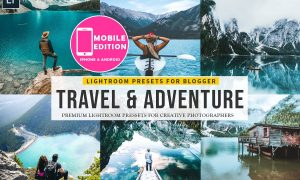 Travel & Adventure Lightroom presets 2968102