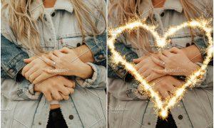 Valentine's sparklers Overlays 2231032