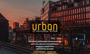 10 Urban Photoshop Action