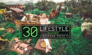 30 Lifestyle Blogger Lightroom Presets