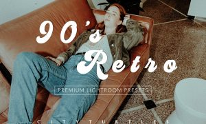 90'S RETRO Moody Lightroom Presets 3617887