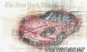 Amazing Newspaper Art Photoshop Action 23310693
