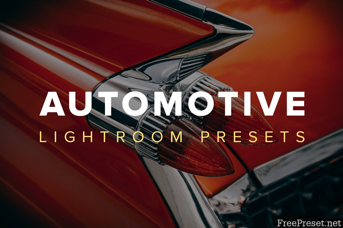 Automotive Lightroom Presets 2876985