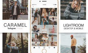 Caramel Instagram Blogger Preset 3429771