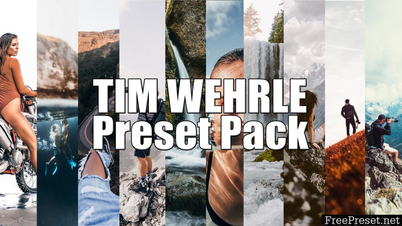 Creator Preset - Tim Wehrle Lightroom Preset Pack