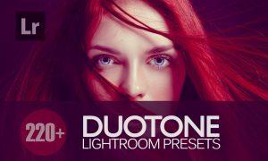Duotone Lightroom Presets bundle 3675288