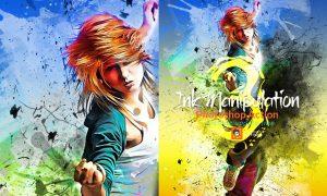 Ink Manipulation Photoshop Action 3 3565533