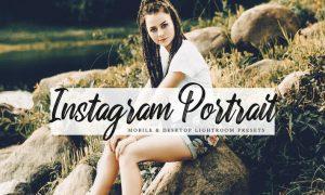 Instagram Portrait Mobile & Desktop Presets AE9QK8J