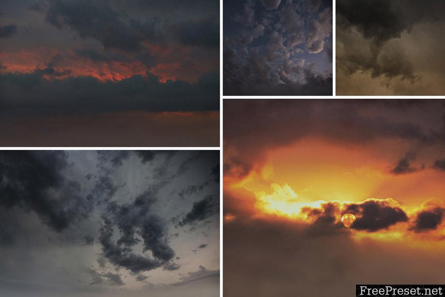 JD Macabre Skies + Sky & Smoke Overlays