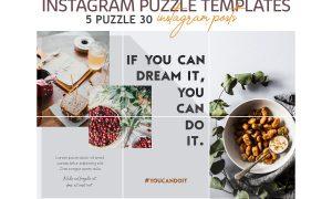 Lifestyle Instagram Puzzle Templates 3623182