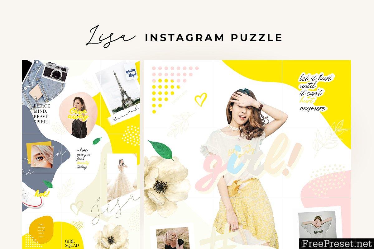 Lisa - instagram puzzle 3678254