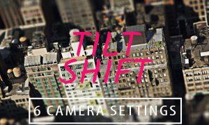 Miniature Tilt Shift Blur Action GLQVHSE