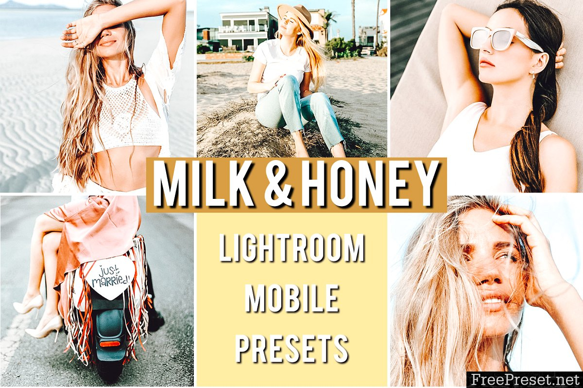Mobile Preset MILK HONEY 3659058