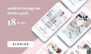 Modern Instagram Stories Pack 2306898